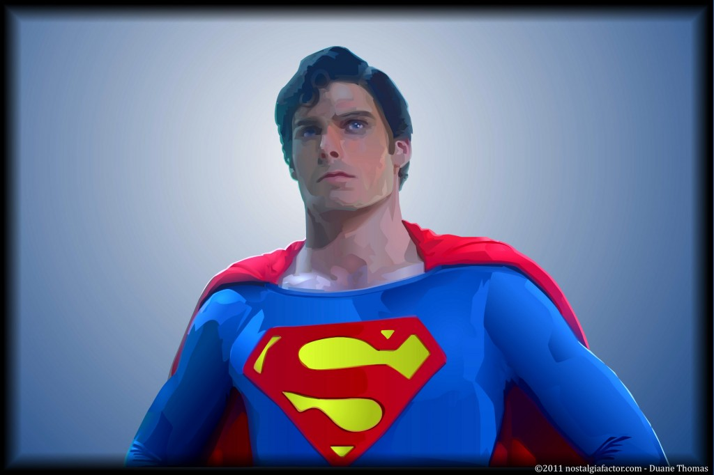 Superman - Christopher Reeve by Duane Thomas