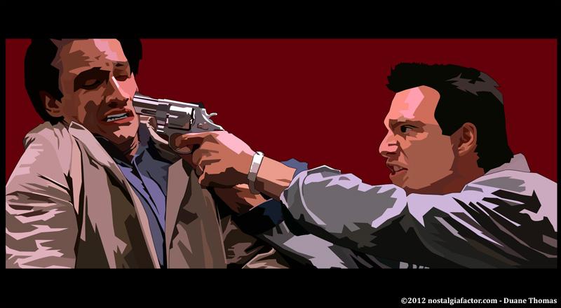 True Romance - Bronson Pinchot & Christian Slater