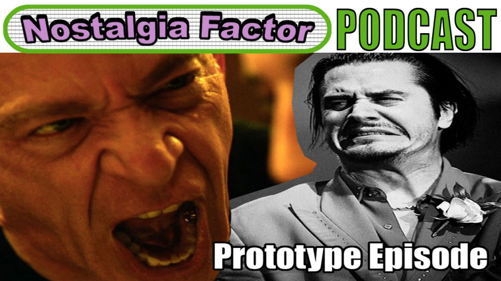 Nostalgia Factor Podcast Prototype Episode - Artwork.